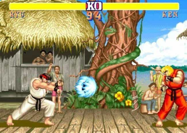 Street Fighter II is listed (or ranked) 1 on the list These Are The Video Games That All Other Video Games Copied
