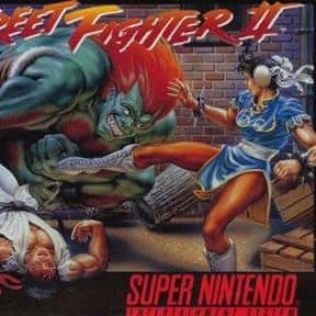 Street Fighter II is listed (or ranked) 2 on the list The Best Fighting Games of All Time
