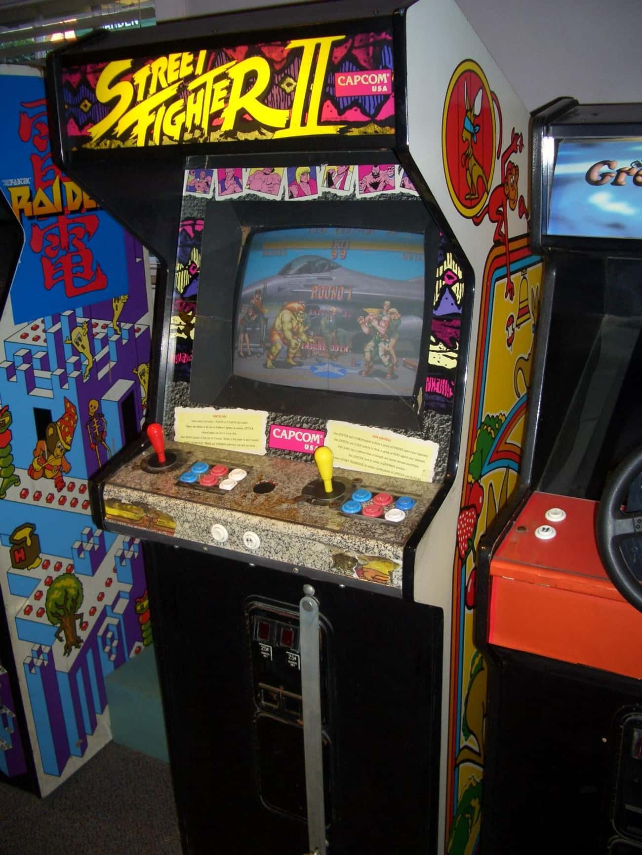 Street Fighter II is listed (or ranked) 2 on the list The Greatest Games You Could Actually Beat at an Arcade