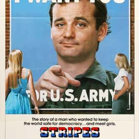 Stripes is listed (or ranked) 14 on the list The Funniest '80s Movies