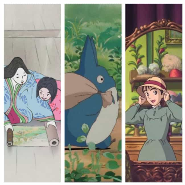 Studio Ghibli is listed (or ranked) 4 on the list The Greatest Anime Studios of All Time, Ranked