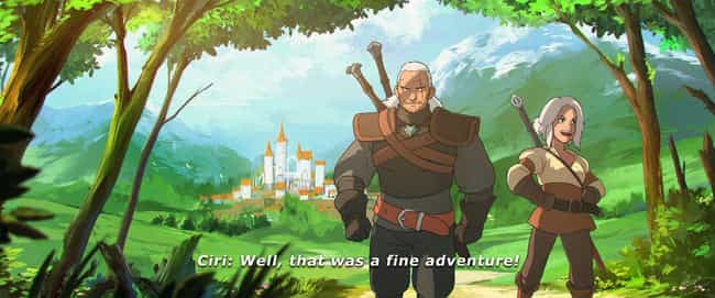 Studio Ghibli is listed (or ranked) 3 on the list 16 Extremely Cool 'Witcher' Fan Art Mash-Ups
