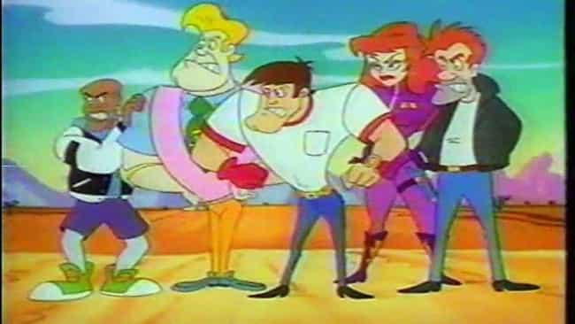 Stunt Dawgs is listed (or ranked) 4 on the list '90s Cartoons No Kid Is Nostalgic About
