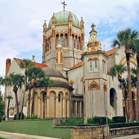 St. Augustine is listed (or ranked) 21 on the list The Best US Cities for Architecture