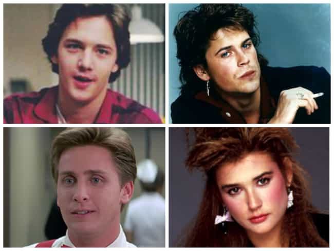St. Elmo's Fire is listed (or ranked) 3 on the list The Sexiest Movie Casts from the 80s