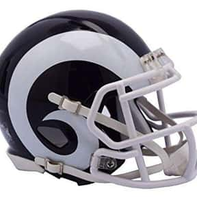 Rams is listed (or ranked) 1 on the list The Best Current NFL Helmets