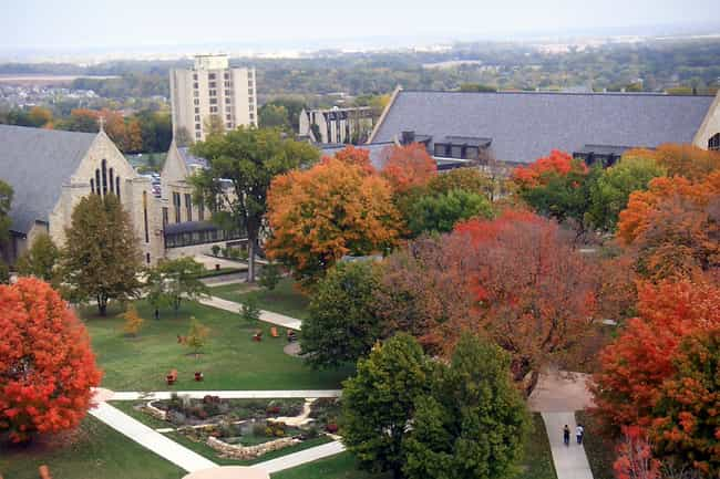 St. Olaf College is listed (or ranked) 1 on the list The Most Beautiful College Campuses