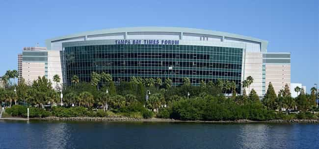 Tampa Bay Times Forum is listed (or ranked) 3 on the list The Best NHL Arenas