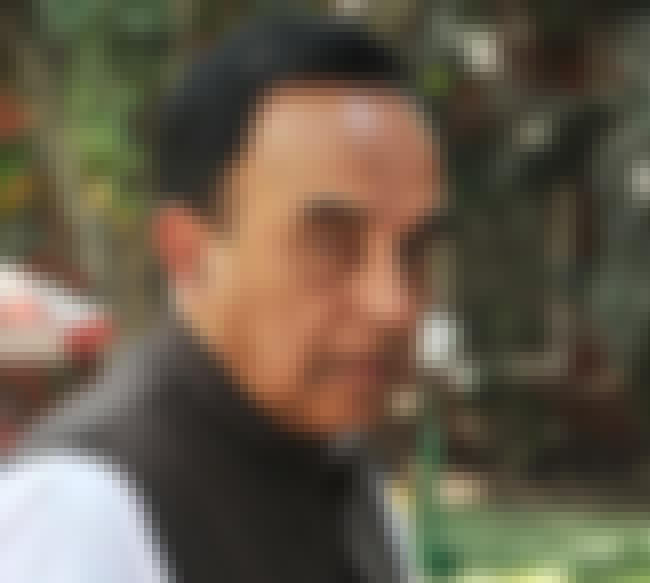 Subramanian Swamy is listed (or ranked) 3 on the list Famous Indian Statistical Institute Alumni
