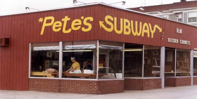 Subway is listed (or ranked) 4 on the list Amazing Early Photos of the World's Most Iconic Companies