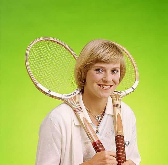 Sue Barker is listed (or ranked) 3 on the list The Best Tennis Players from England