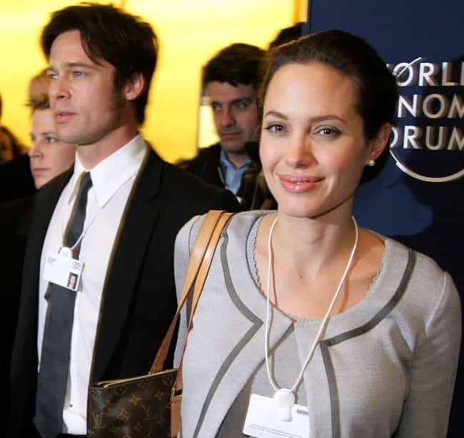 Brad Pitt & Angelina... is listed (or ranked) 4 on the list Celebrities Reveal Why They Actually Divorced Their Partner