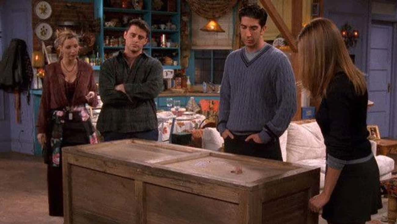 The One With Chandler In A Box is listed (or ranked) 4 on the list The Best Ross and Rachel Episodes of 'Friends'
