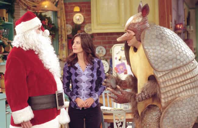 The One With The Holiday... is listed (or ranked) 1 on the list The Best Christmas Episodes On 'Friends'