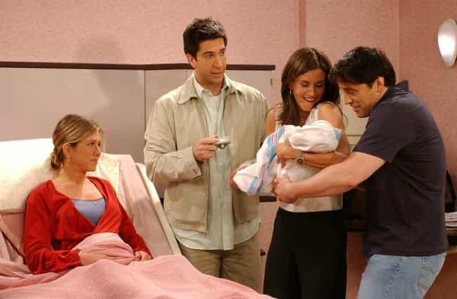 The One Where Rachel Has A Bab... is listed (or ranked) 1 on the list The Best Janice Episodes of 'Friends'
