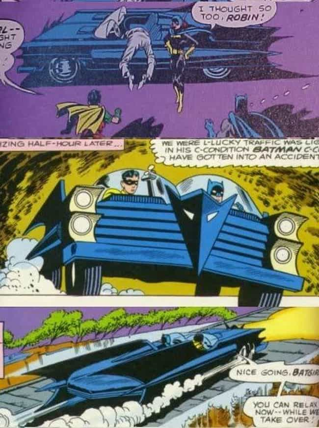 Batmobile is listed (or ranked) 1 on the list The Best and Worst Vehicles in DC Comics