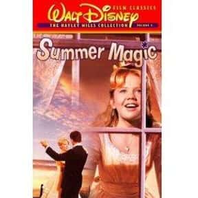 Summer Magic is listed (or ranked) 25 on the list The Best Disney Musical Movies