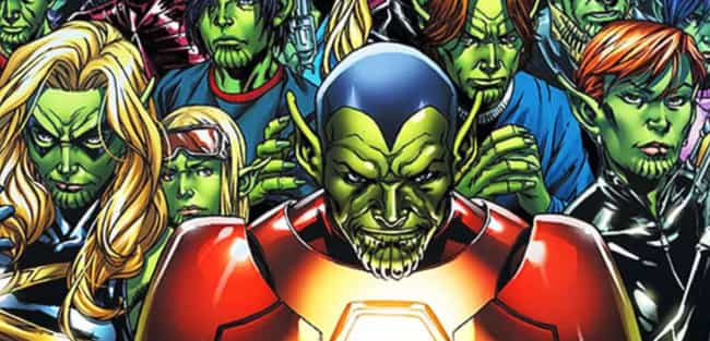Super-Skrull is listed (or ranked) 2 on the list Fan Theories About Phase 4 Of The MCU