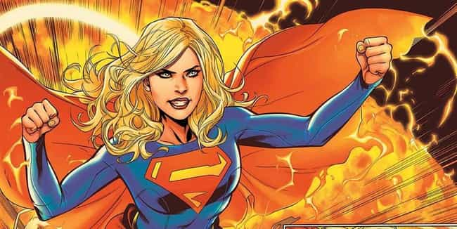 Supergirl is listed (or ranked) 4 on the list The Best Superheroes Who Can Fly