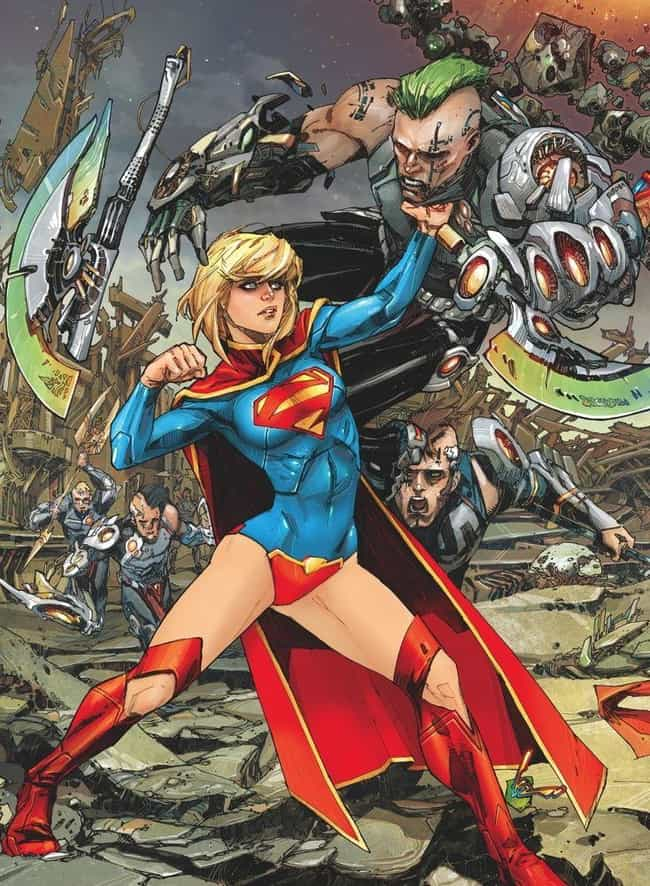 Supergirl is listed (or ranked) 2 on the list The Most Impractical Footwear Sported By Superheroes