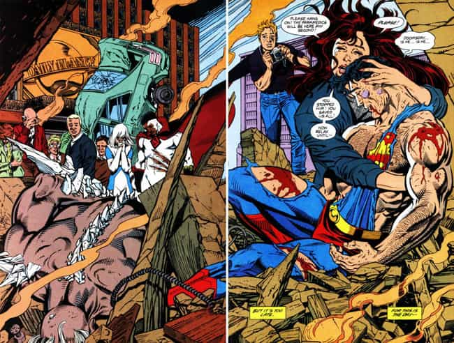 The 22 Top Comic Book Splash Pages Of All Time
