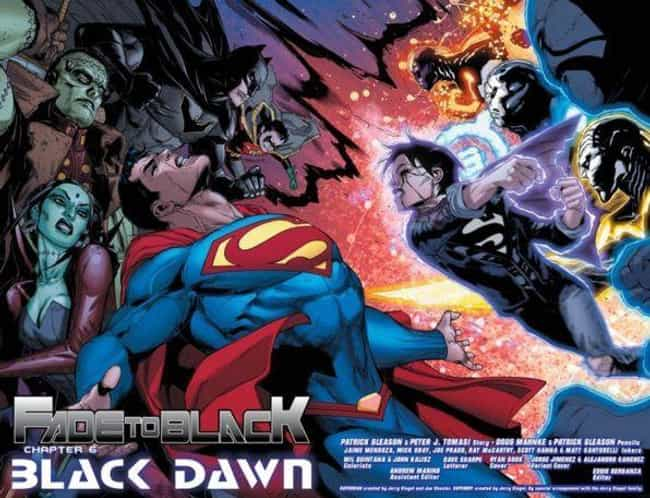 Superman is listed (or ranked) 2 on the list What Happened To All Your Favorite DC Comic Book Characters In 2017