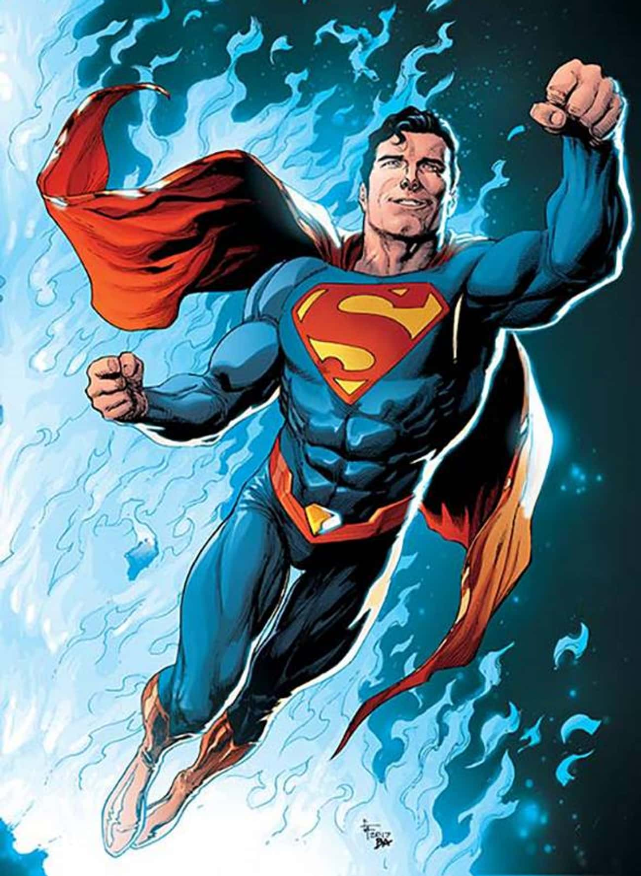 Superman Doesn't Fly, He Manipulates Gravity