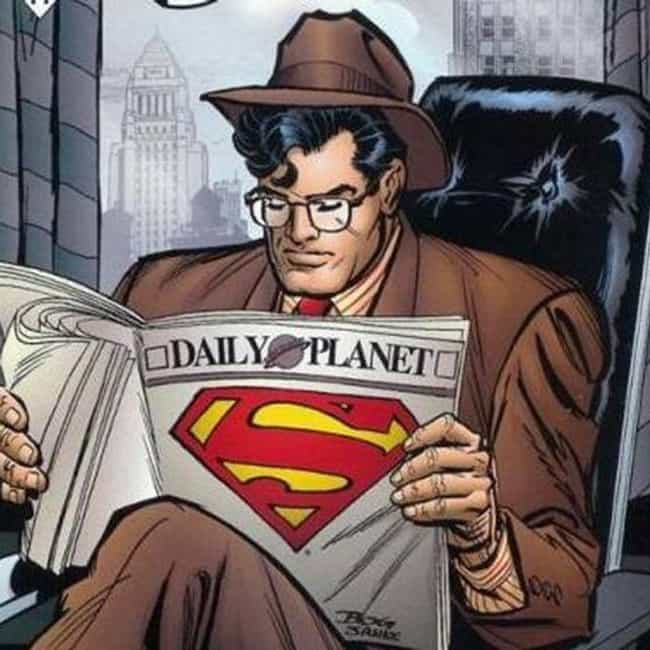 Superman is listed (or ranked) 4 on the list The Best Superheroes Who Wear Glasses