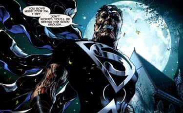 Superman is listed (or ranked) 1 on the list The Best Zombie Versions Of Superheroes