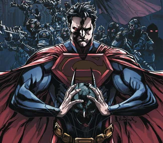 Superman is listed (or ranked) 3 on the list When Crimefighters Break Bad: Superheroes Who Became Supervillains