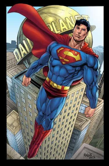 Superman (235 lbs.) is listed (or ranked) 1 on the list 20 Giant, Fictional Things That Weigh Less Than The Rock