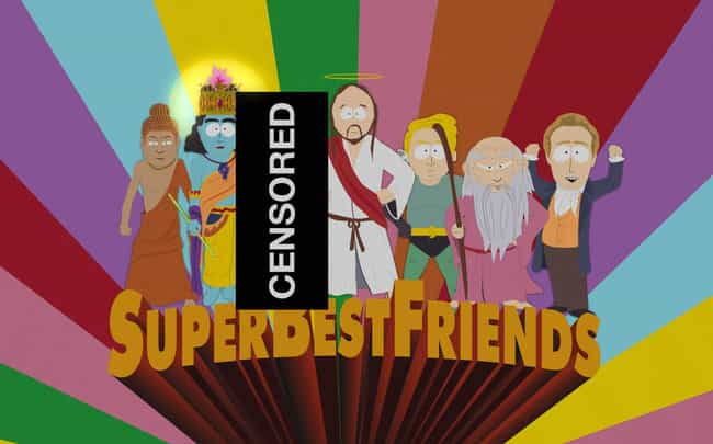 Super Best Friends is listed (or ranked) 2 on the list 15 Cartoon Episodes So Controversial They Were Banned