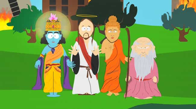 Super Best Friends is listed (or ranked) 7 on the list All South Park Religion Episodes, Ranked
