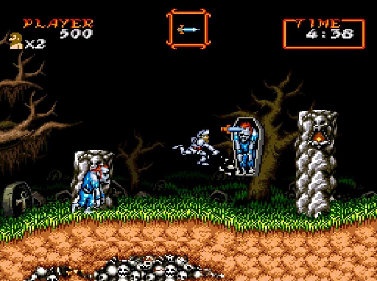 Super Ghouls'n Ghosts is listed (or ranked) 2 on the list 20 Super Nintendo Games That Are So Hard We're Still Trying To Beat Them