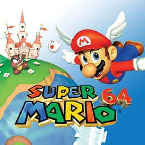 Super Mario 64 is listed (or ranked) 2 on the list The Best Nintendo Games, Ranked