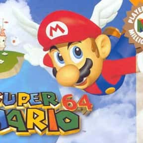 Super Mario 64 is listed (or ranked) 25 on the list The 100+ Best Video Games of All Time, Ranked by Fans