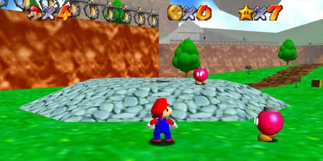 Super Mario 64 is listed (or ranked) 4 on the list These Are The Video Games That All Other Video Games Copied