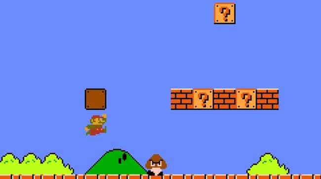 Super Mario Bros. is listed (or ranked) 1 on the list 18 Opening Levels In Video Games That True Gamers Will Remember Forever