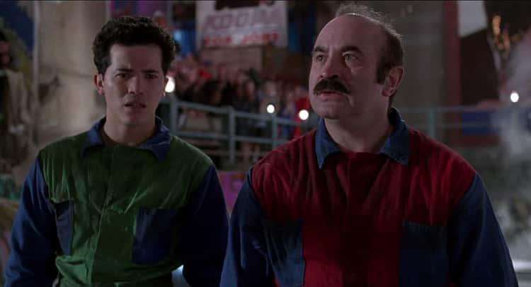 Bob Hoskins, Dennis Hopper, And Directors Annabel Jankel And Rocky Morton - 'Super Mario Bros.'