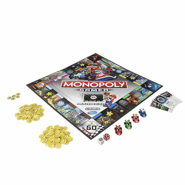 Super Mario Kart is listed (or ranked) 3 on the list The Best Editions of Monopoly