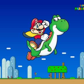 Super Mario World is listed (or ranked) 13 on the list The Most Popular Wii U Games Right Now