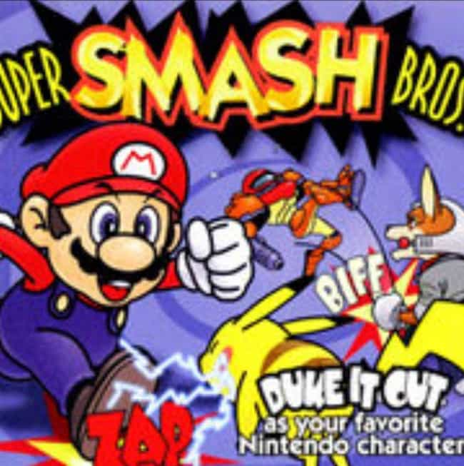 Super Smash Bros. is listed (or ranked) 4 on the list All Super Smash Bros. Games, Ranked