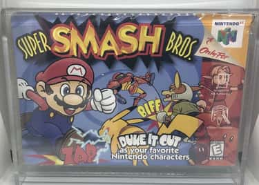Super Smash Bros.: $640 is listed (or ranked) 2 on the list The Most Ridiculously Valuable Nintendo 64 Games