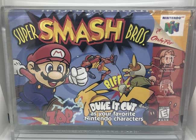 Super Smash Bros. is listed (or ranked) 2 on the list The Most Ridiculously Valuable Nintendo 64 Games