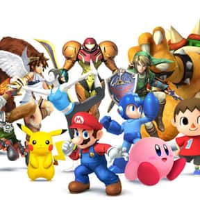 Super Smash Bros. is listed (or ranked) 4 on the list The Most Addictive Video Games of All Time