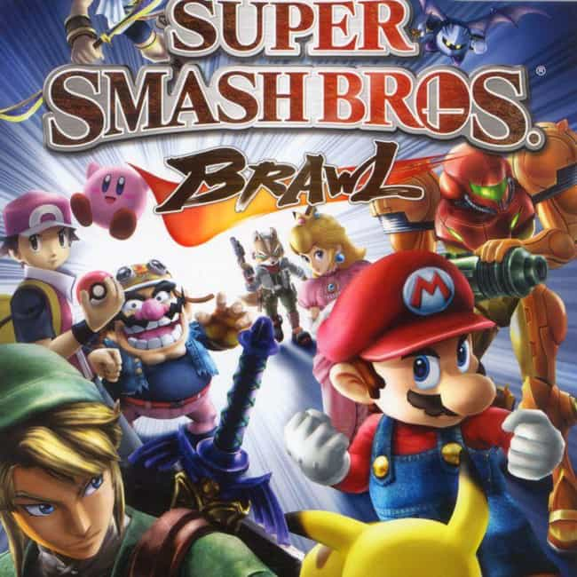 Super Smash Bros. Brawl ... is listed (or ranked) 3 on the list All Super Smash Bros. Games, Ranked