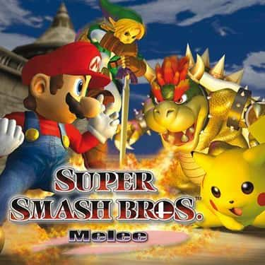 Super Smash Bros. Melee is listed (or ranked) 2 on the list All Super Smash Bros. Games, Ranked