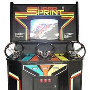 Super Sprint is listed (or ranked) 15 on the list The Best Arcade Racing Games Of All Time