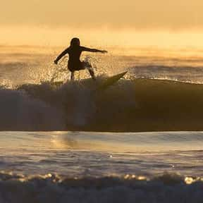 Surfing is listed (or ranked) 7 on the list The Best Solo Sports Ever