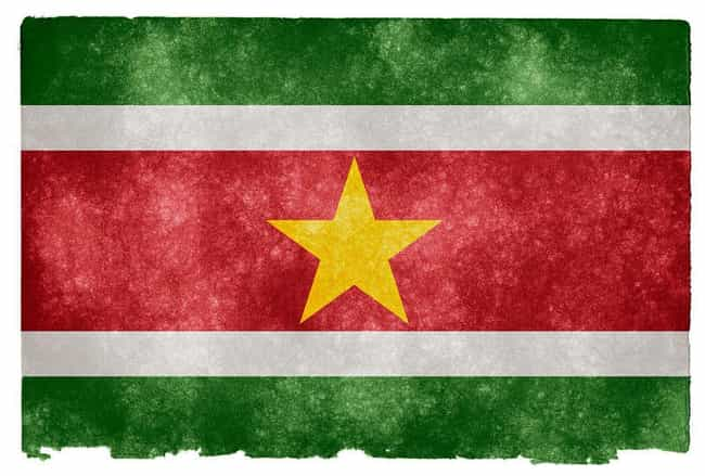 Suriname is listed (or ranked) 3 on the list Countries Where Dutch Is The Official Language